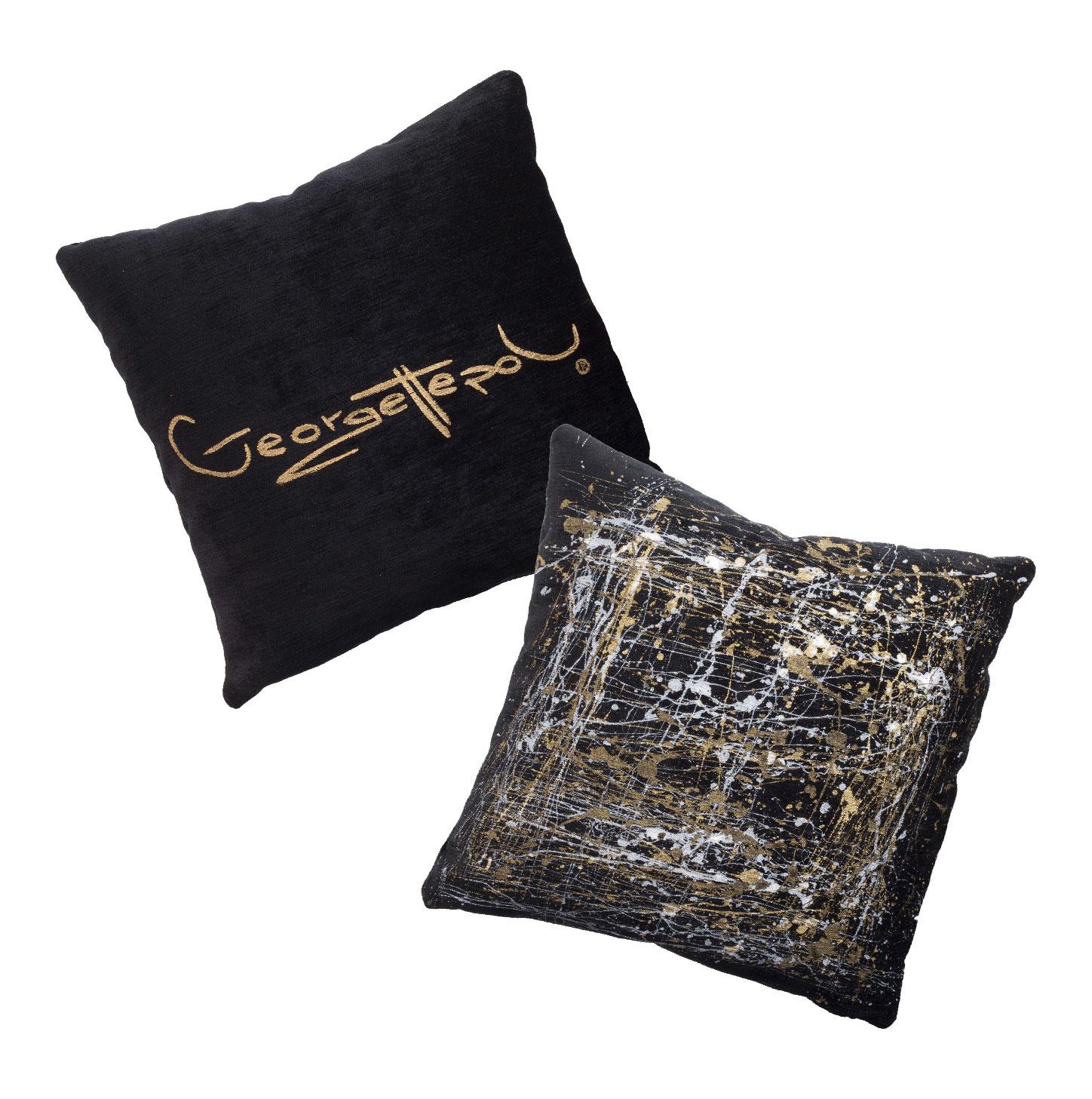 Cuscini Oro.Duo Di Cuscini Oro Rollmat By Georgettepol Georgettepol